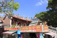 Templo de Matsu na cidade zengcuoan, cidade amoy imagem de stock