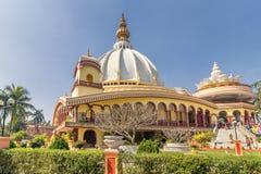 Templo de Mayapur, sede de ISKON imagens de stock