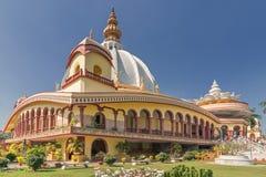 Templo de Mayapur, sede de ISKON fotografia de stock royalty free