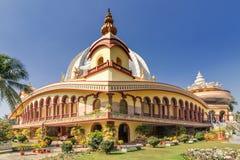Templo de Mayapur, sede de ISKON fotografia de stock