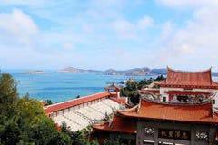 Templo de Mazu, templo de Tianhou, deus do mar em China Imagem de Stock