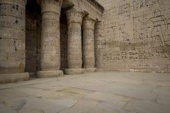 Templo de Medinet Habu, dedicado ao Cisjordânia de Rameses III - Mundo do UNESCO foto de stock