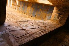 Templo de Medinet Habu em Luxor imagens de stock