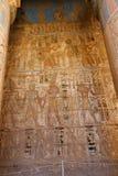 Templo de Medinet Habu em Luxor foto de stock
