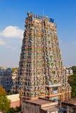 Templo de Menakshi, la India fotografía de archivo libre de regalías