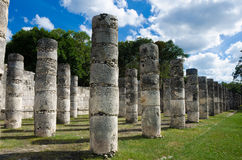 Templo de mil columnas Imagen de archivo libre de regalías