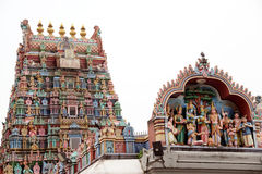 Templo de Minakshi Sundareshvara - Madurai - India Imagens de Stock