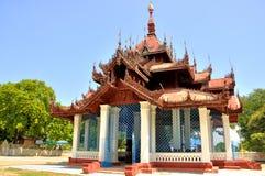 Templo de Mingun Bell Imagenes de archivo