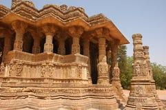 Templo de Modhera Sun Foto de archivo libre de regalías