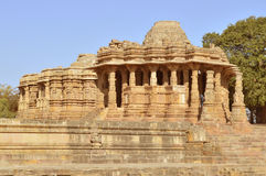 Templo de Modhera Sun, Gujarat fotografia de stock