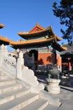 Templo de monarca antigos Fotos de Stock Royalty Free
