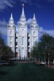 Templo de Monmon LDS, Salt Lake City Imagens de Stock
