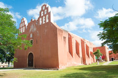 Templo de Muna Yucatan Fotos de archivo