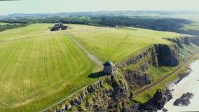 Templo de Mussenden e Demesne em declive Coleraine Co Derry Northern Ireland imagens de stock royalty free