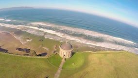 Templo de Mussenden e Demesne em declive Coleraine Co Derry Northern Ireland filme
