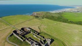 Templo de Mussenden e Demesne em declive Coleraine Derry Northern Ireland filme