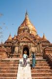 Templo de Myanmar imagen de archivo