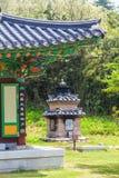 Templo de Naksansa en Sokcho, Corea del Sur Foto de archivo libre de regalías