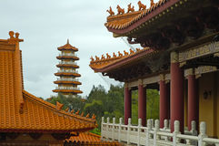 Templo de Nan Tien Imágenes de archivo libres de regalías