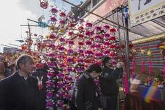 Templo de Nanjing Confucio el desfile Fotografía de archivo