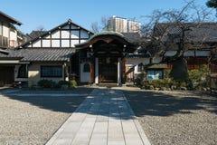 Templo de Nansenji em Yanaka, Tóquio Imagens de Stock