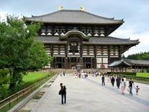 Templo de Nara imagem de stock