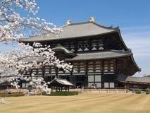 Templo de Nara Todaiji Fotografía de archivo