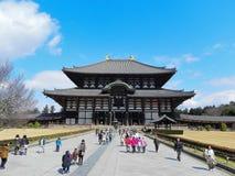 Templo de Nara Todaiji fotos de archivo libres de regalías