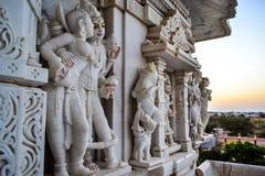 Templo de Narayan del Swami Imagen de archivo