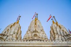 Templo de Narayan del Swami Imagenes de archivo