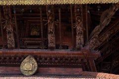 Templo de Narayan em Kathmandu Valley Nepal fotos de stock