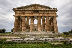 Templo de Netuno, Paestum Fotografia de Stock Royalty Free