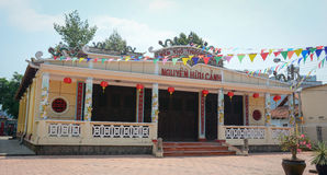Templo de Nguyen Huu Canh em Bien Hoa, Dong Nai Imagem de Stock
