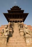 Templo de Nyatapola Foto de archivo