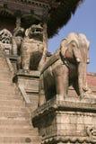 Templo de Nyatapola em Bhaktapur Fotos de Stock Royalty Free