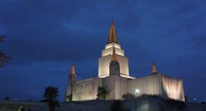 Templo de Oakland Imágenes de archivo libres de regalías