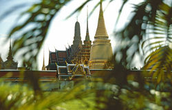 Templo de oro Fotos de archivo libres de regalías