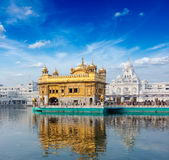 Templo de oro, Amritsar foto de archivo