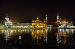 Templo de oro, Amritsar, Punjab, la India Imagen de archivo