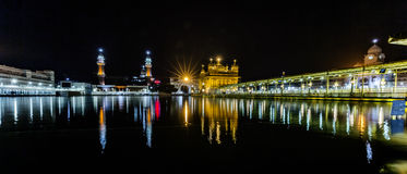 Templo de oro, Amritsar, Punjab, la India Imagenes de archivo