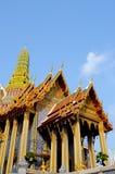 Templo de oro de Tailandia Fotografía de archivo libre de regalías
