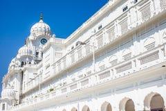 Templo de oro del gurdwara sikh (Harmandir Sahib). Amritsar, Punjab, la India fotografía de archivo libre de regalías