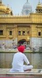 Templo de oro en Amritsar, la India Fotos de archivo libres de regalías