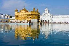 Templo de oro en Amritsar, Punjab, la India. Fotos de archivo