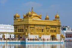 Templo de oro en Amritsar, Punjab, la India Imagenes de archivo