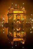Templo de oro en Amritsar, Punjab, la India. Foto de archivo