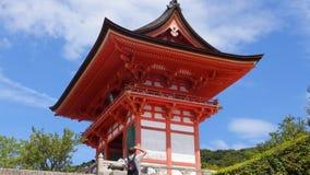 Templo de oro en Kjoto Fotografía de archivo