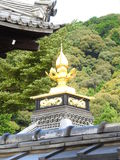 Templo de oro en Kjoto Fotos de archivo