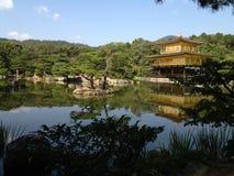 Templo de oro en Kyoto Foto de archivo libre de regalías