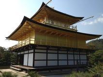 Templo de oro en Kyoto Fotografía de archivo libre de regalías